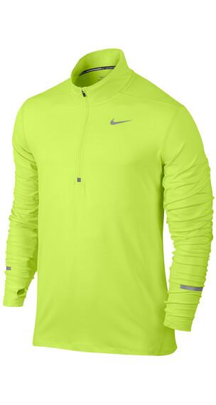 Nike Dri-FIT Element - Camiseta Running Hombre - amarillo